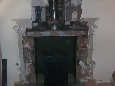 Stove And Flue Fitting Fitting A Stove